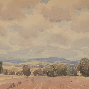 "A.C. Leighton ""Potato Farm"" Watercolour, N.D."