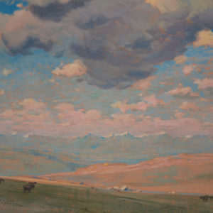 """A.C. Leighton """"Millarville Country"""" Oil, N.D."""