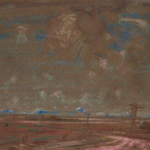 """A.C. Leighton """"Airdrie"""" Pastel, N.D."""