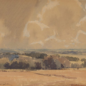 "A.C. Leighton ""Sheep Creek"" Pastel, N.D."