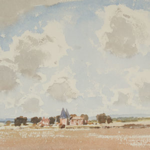 "A.C. Leighton ""Devonshire Farm"" Watercolour, N.D."