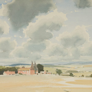 "A.C. Leighton ""Kentish Farm"" Watercolour, N.D."