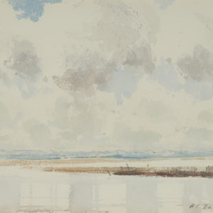"A.C. Leighton ""The Slough"" Watercolour, N.D."