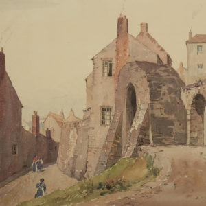 "A.C. Leighton ""Untitled"" Watercolour, N.D."