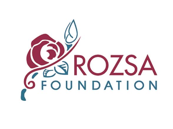 Rozsa Foundation logo