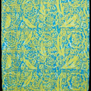 "Barbara Leighton ""Untitled Printed Yardage"" Textile, N.D."