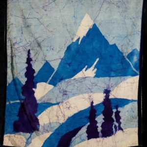 "Barbara Leighton ""Untitled Batik"" Textile, N.D."
