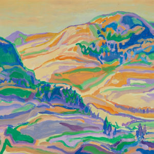 "Bill Duma ""Foothills Morning"" Oil, N.D."