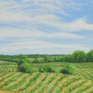 """S. Voyer """"Landscape"""" Acrylic, N.D."""